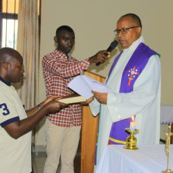La messe d'envoi des catéchistes de ce mercredi 20 décembre 2017(UCS-GOMA)